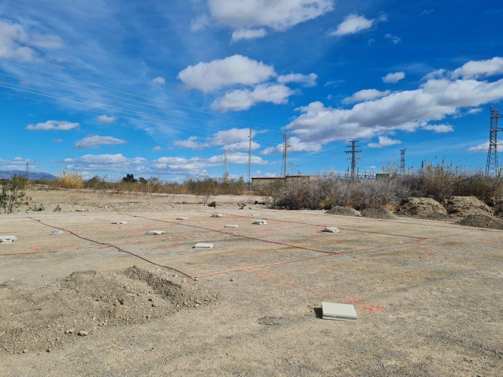"""Obras Parque Solar fotovoltaico """"Puerto Lumbreras"""""""